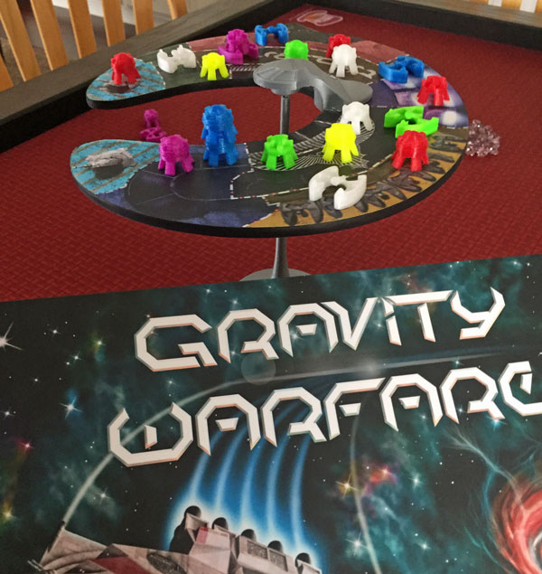 Gravity Warfare board game