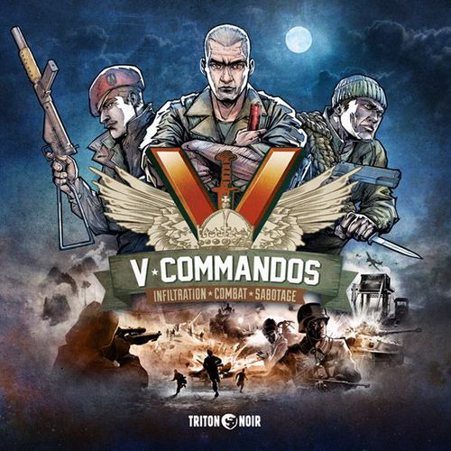 V-Commandos cooperative board game