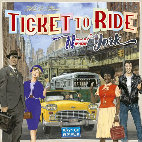 Ticket to Ride: New York board game review - The Board Game Family image