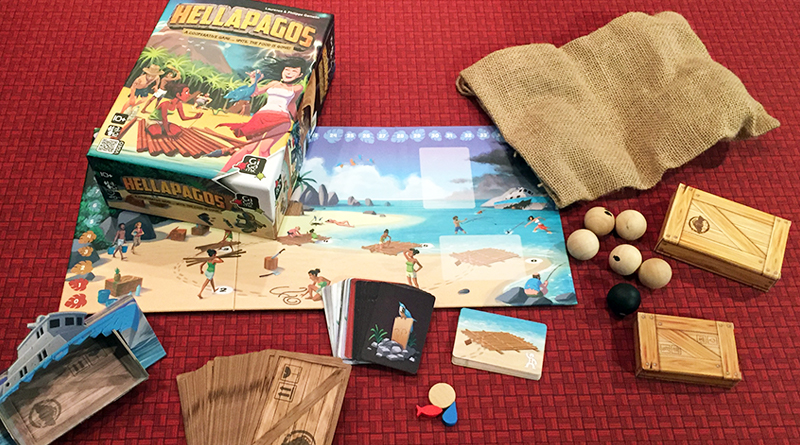 You may not survive Hellapagos - The Board Game Family image