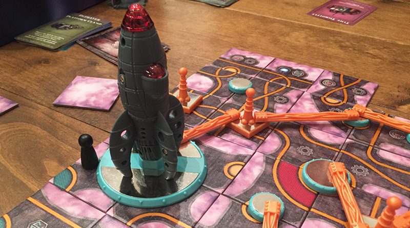 Forbidden Sky delivers cooperative science - The Board Game Family image