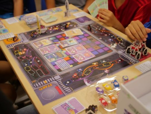 Oddbods GO-KARDS board game