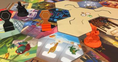 Shadows: Amsterdam board game