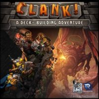 Clank deck-building game