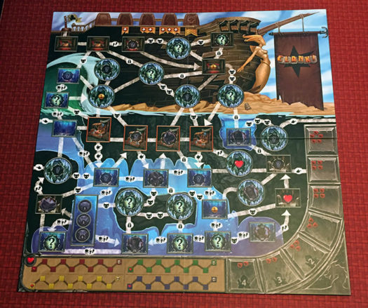 Clank! Sunken Treasures board game