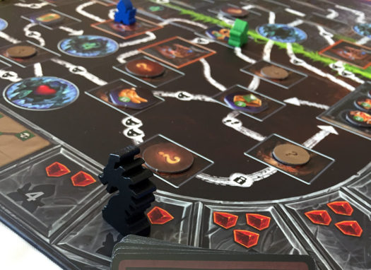 Clank deck building card game