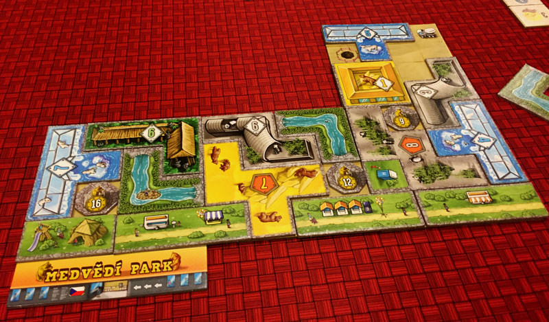 Build Your Own Bear Park In Barenpark The Board Game Family