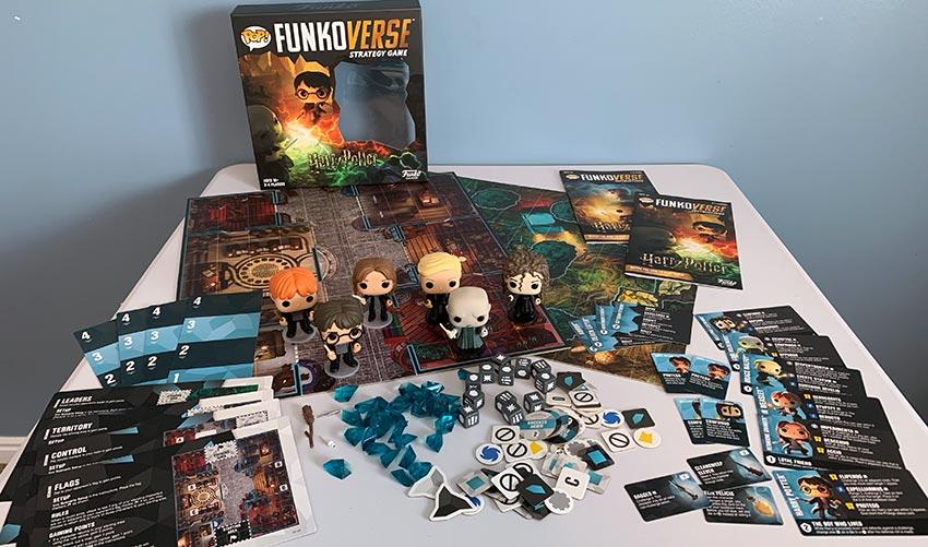 Harry Potter Funkoverse Brettspiel Strategy Game *Deutsche Version*