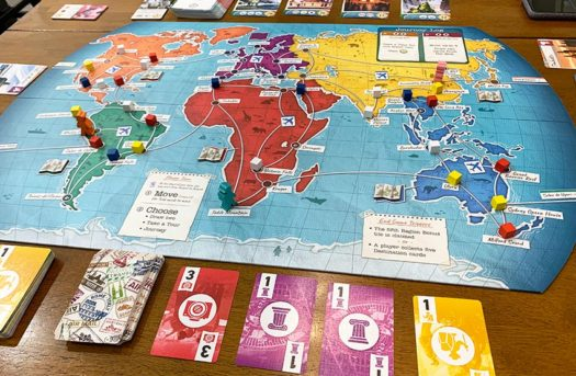 Trekking the World board game